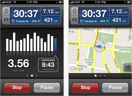 RunKeeper para iPhone, una excelente aplicación para todos los deportistas - Runkeeper-for-iPhone