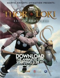 Thor & Loki: Blood Brothers, la miniserie animada de los hijos de Odín