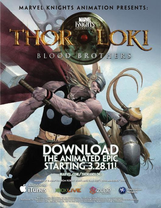 ThorLoki Serie animada Thor & Loki: Blood Brothers, la miniserie animada de los hijos de Odín