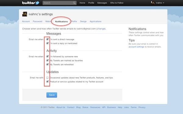 Como modificar las notificaciones por mail de Twitter - Twitter-notificaciones-mail-3