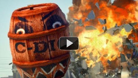 Angry Barrels, parodia de Angry Birds en vida real [Video] - angry-barrels