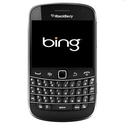 Alianza entre Bing y BlackBerry - blackberry-bing