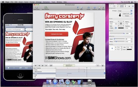 Crea animaciones en HTML5 sin saber de programación con Hype para Mac - hype-for-mac