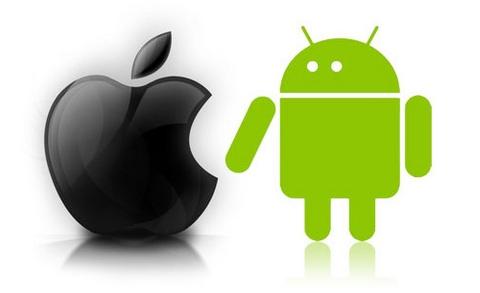 iphone vs android Android Market cuenta con más aplicaciones gratuitas que la App Store