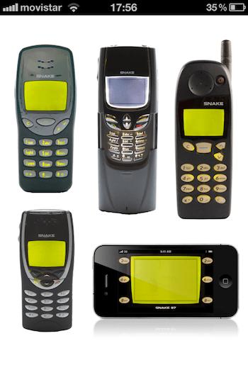la foto1 Snake 97, un juego clásico de Nokia ahora en tu iPhone