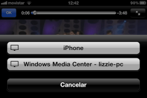 Como activar Airplay en Windows Media Center