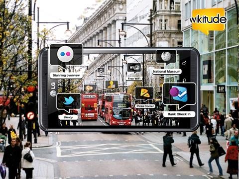 lg optimus wikitude LG Optimus incorpora realidad 3D aumentada