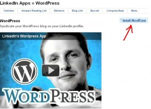 Integra tu sitio de Wordpress en Linkedin - linkedin3-300x217