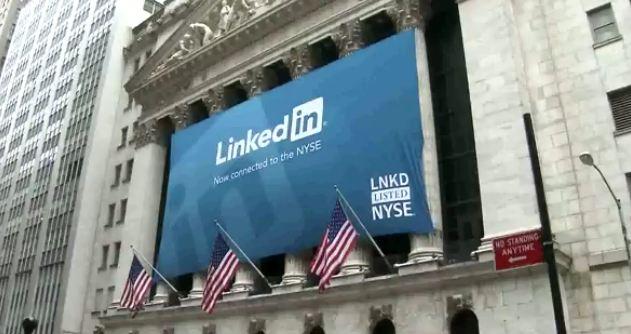 linkedinNY Un éxito LinkedIn su camino en la bolsa de Nueva York