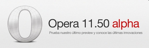 Opera Next y Extensiones para desarrolladores - opera-11-50-alpha