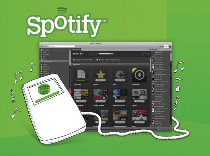 Spotify renueva su modelo de negocio e incursiona en el iPod - spotify-ipod