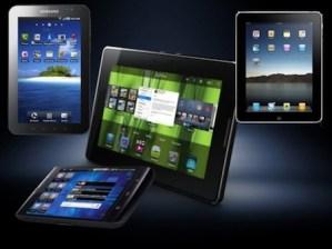 35 por ciento de la gente que tiene una tablet la usa en el baño