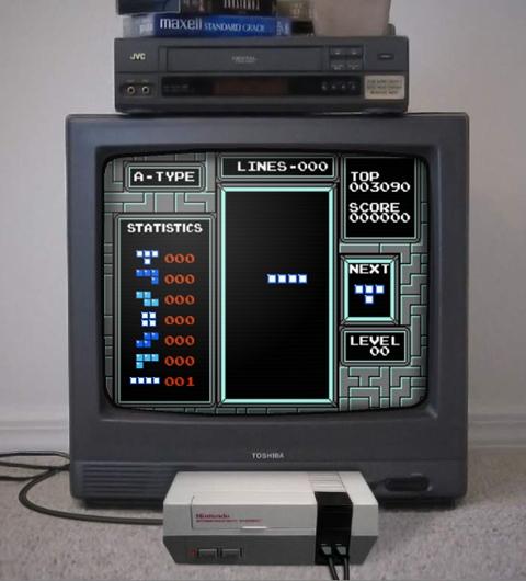 Jugar Tetris en primera persona [Videojuego] - tetris-first-person