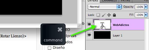 Como hacer un efecto de reflejo de un texto en Photoshop - 2011-06-12_18-00-56