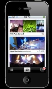 Facebook prepara una aplicación para compartir fotos para iPhone