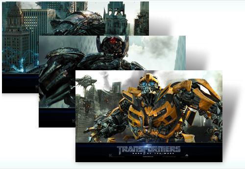 Temas para Windows 7: Transformers 3 - Click-to-download-theme
