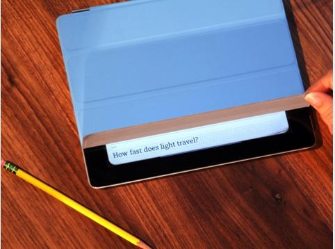 Estudia y repasa tus notas utilizando el Smart Cover del iPad 2 con Evernote Peek - Evernote-Peek-para-iPad