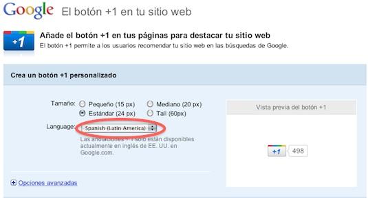 Google lanza el botón +1 para distintos websites. ¿Cómo agregarlo en mi sitio web? - agregar-boton-+1-1