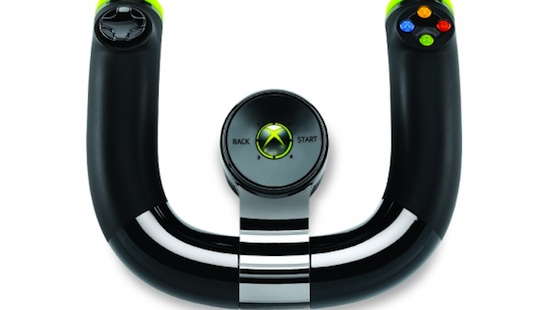 [E3 2011] Microsoft presenta nuevo volante inalámbrico para Xbox 360