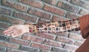 Te harías un tatuaje en tu brazo de todos tus amigos en Facebook?