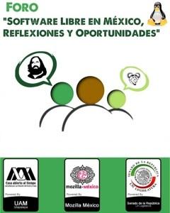 Foro de Software Libre en el senado mexicano