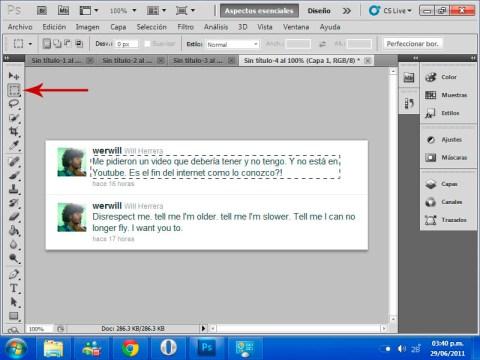 gaussian rectangulo Ocultar algunos elementos en tus imágenes con blur en Photoshop