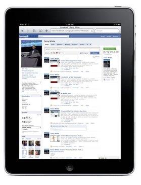 App de Facebook para iPad podría estar en camino