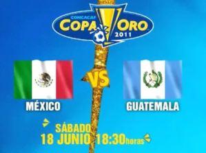 México vs Guatemala en vivo, Copa Oro 2011