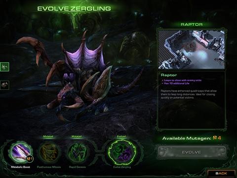 Startcraft 2: Heart of Swarm - starcraft-2-zergling-evolution