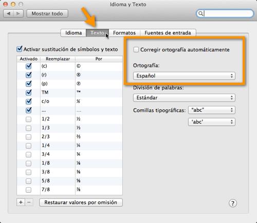2011 07 28 10 50 11 Como desactivar la auto corrección en Mac OS X Lion