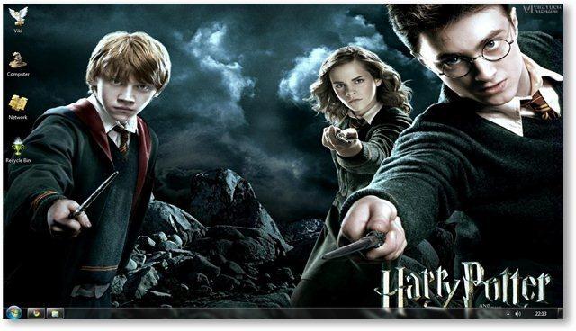 Temas Windows 7, Harry Potter - Harry-Potter-Wallpaper-18-VikiTech