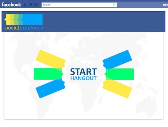 Social Hangouts, una aplicación para realizar videollamadas grupales en Facebook  - Social-hangouts-en-facebook