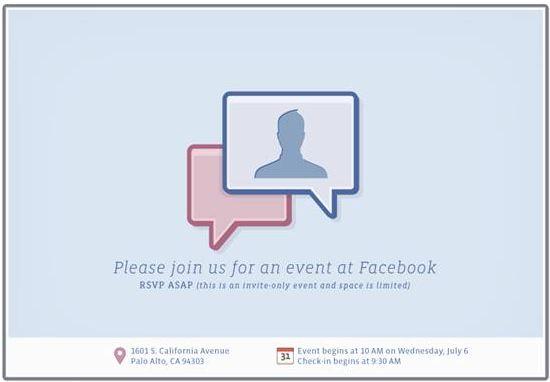 """Facebook planea lanzar """"algo asombroso"""" el próximo miércoles - fb-event-invite"""
