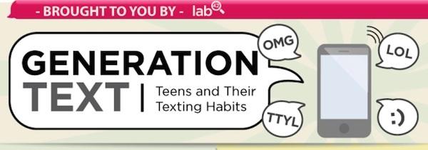Los jóvenes y los mensajes de texto [infografía] - infografia-mensajes-texto-jovenes