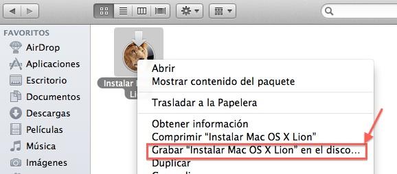 instalar mac os x lion en sd dvd o usb Cómo instalar Mac OS X 10.7 Lion desde un USB, DVD o SD