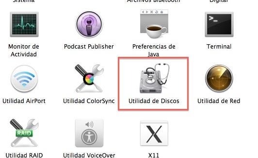 instalar mac os x lion en una sd o usb 6 Cómo instalar Mac OS X 10.7 Lion desde un USB, DVD o SD