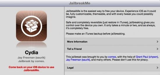 Jailbreak para iPad 2 con iOS 4.3.3 disponible con JailbreakMe 3.0 - jailbreakme3.0-ipad-2