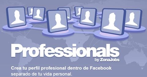 professionals Professionals, red profesional en Facebook