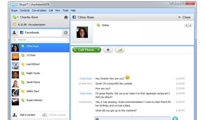 Skype para Windows se actualiza a su versión 5.5 - skype1