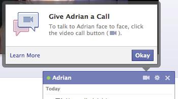 videollamdas en facebook3 Facebook incluye las videollamadas en el Chat, te decimos como activarlas