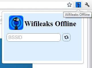 Como buscar WiFi en tu ciudad con Wifileaks - wifileaks-chrome