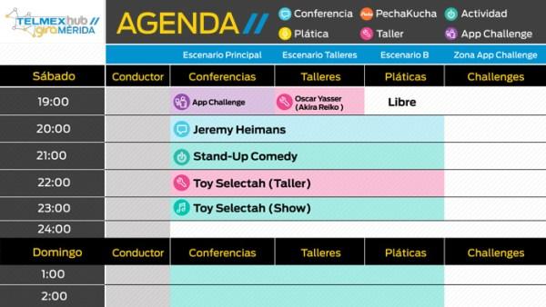 Agenda Telmex Hub Mérida