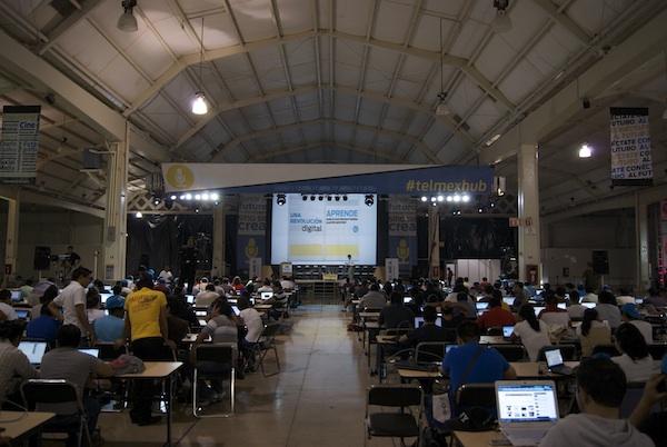 Comienzo del Telmex Hub Mérida - Telmex-hub-merida-3a
