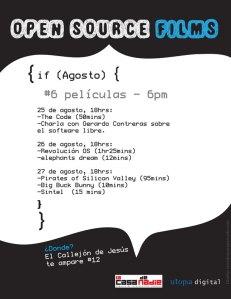 Cine Club Open Source en Veracruz
