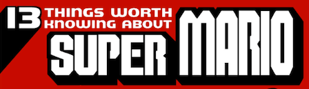 datos super mario Algunas cosas que debes saber sobre Super Mario [Infografía]