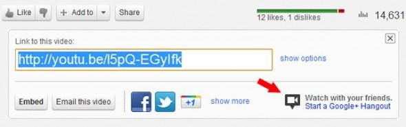 Google+ Hangouts ahora se pueden iniciar desde YouTube - hangouts-desde-youtube-590x185