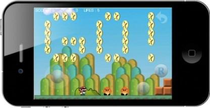 Inversionistas presionan a Nintendo para que sus juegos lleguen a iOS [Rumor] - monino_super_mario_iphone