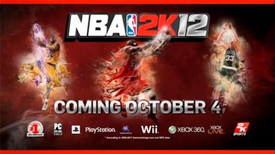 Se lanza épico trailer del videojuego NBA 2k12 - nba-2k12