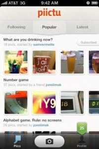 piictu review screenshot 1 200x300 Piictu para iPhone, lleva una conversación usando imágenes
