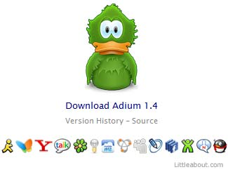 Adium, sencillo y eficaz cliente de mensajería para Mac - Adium